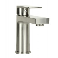 Anna Brushed Nickel Bathroom Vessel Sinke Single Hole Faucet