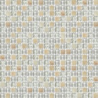 Honey Onyx Blend Rippled Glass Mosaic Tile Mesh Backed Sheet