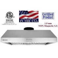 XtremeAIR 30 Inch Under Cabinet Stainless Steel Range Hood UL11-U30