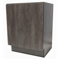 24 Inch European Design Bathroom Vanity Single Door Cabinet Base Country Oak Textured Finish
