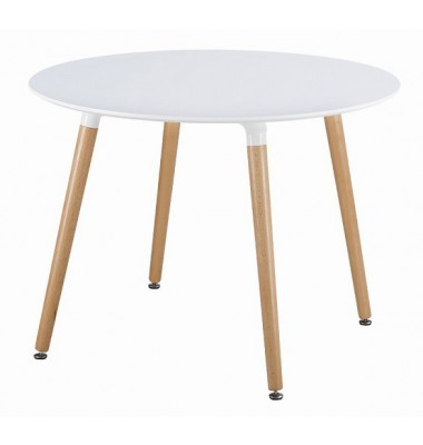 DSW White Round Dining Table