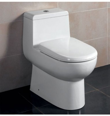 Ariel TB351 One Piece Dual Flush Ultra Low Flush Eco Friendly White Toilet