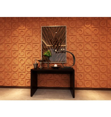 Horseshoe Design 3D Glue On Wall Panel - Box of 10 (26.67sqft)