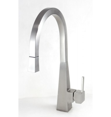 Imperial Style Solid Stainless Steel Lead Free Single Handle Pull Out Kitchen Mixer Faucet