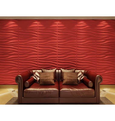 Sand Design 3D Glue On Wall Panel - Box of 6 (32.18 sqft)