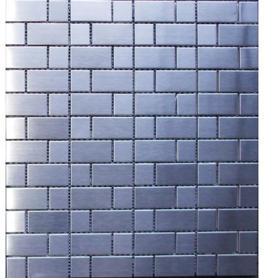 Various Sized Stainless Steel Mosaic Tile Mesh Backed Sheet