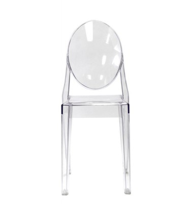 Victoria Style Clear Color Ghost Dining Chair
