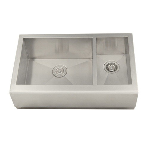 20 Inch Farmhouse Sink : 33 Inch Stainless Steel Smooth Flat Front Farmhouse Apron Kitchen Sink ...