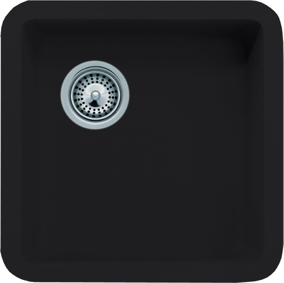 Granite Composite Undermount Kitchen Sinks Black quartz composite undermount kitchen sink 14 78 x 14 78 x 7 black quartz composite undermount kitchen sink 14 78 x 14 78 x 7 inch workwithnaturefo