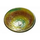 16-1/2 Inch Levana Design Glass Countertop Bathroom Lavatory Vessel Sink