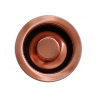 Kitchen / Bar Copper Sink Basket Disposal Flange 3.5-inch