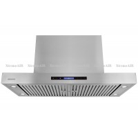 XtremeAIR 48 Inch Island Mount 1600 CFM Stainless Steel Range Hood PX06-I48