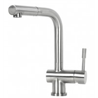 Ariel Flamingo Solid Stainless Steel Lead Free Single Handle Pull Out Kitchen Faucet