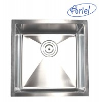 17 Inch Stainless Steel Undermount Single Bowl Kitchen / Bar / Prep Sink 15mm Radius Design