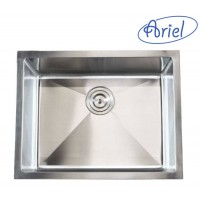 23 Inch Stainless Steel Undermount Single Bowl Kitchen / Bar / Prep Sink  15mm Radius Design