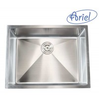 26 Inch Stainless Steel 15mm Radius Design Undermount Single Bowl Kitchen Sink