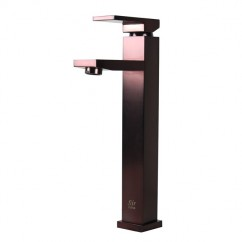 Lead Free Faucet  Oil Rubbed Bronze Bathroom Lavatory Vessel Sink Faucet - 12 x 9 Inch