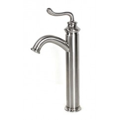 Lead Free Faucet Brushed Nickel Bathroom Lavatory Vessel Sink Faucet - 13 x 8 Inch
