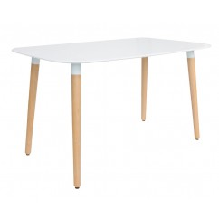 DSW White Rectangular Dining Table