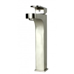 Lewis Brushed Nickel Bathroom Vessel Sinke Single Hole Faucet