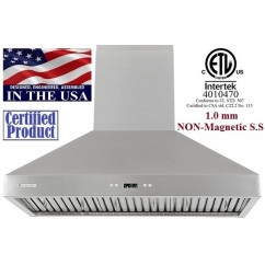 XtremeAIR 36 Inch Wall Mount Stainless Steel Range Hood 900 CFM PX03-W36