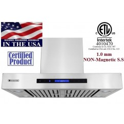 XtremeAIR 30 Inch Wall Mount Stainless Steel Range Hood PX06-W30