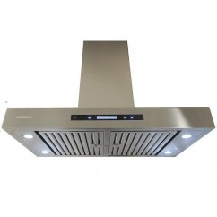 XtremeAIR 36 Inch Island Mount 900 CFM Stainless Steel Range Hood PX06-I36