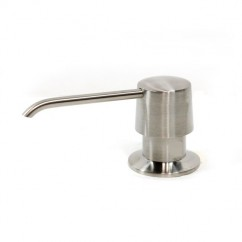 Kitchen / Bar / Bathroom Sink Soap Dispenser in Brushed Nickel Finish