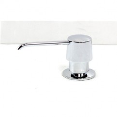 Kitchen / Bar / Bathroom Sink Soap Dispenser in Polished Chrome Finish