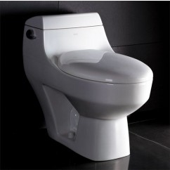 Ariel TB108 One Piece Modern Ultra Low Single Flush Eco Friendly Toilet