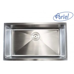 30 Inch Stainless Steel Undermount Single Bowl Kitchen Sink 15mm Radius Design