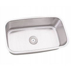 30 Inch Stainless Steel Undermount Single Bowl Kitchen Sink - 16 Gauge