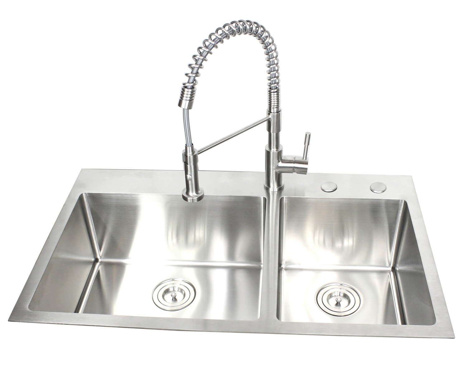 36 inch top mount   drop in stainless steel 60 40 double bowl kitchen sink 15mm radius design 36 inch top mount   drop in stainless steel 60 40 double bowl      rh   cbath com