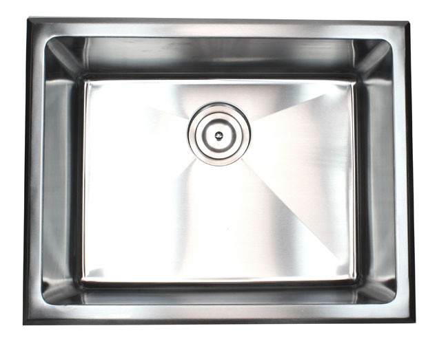 Drop In Stainless Steel Utility Sink : ... Drop-In Stainless Steel Single Bowl Kitchen / Utility / Laundry Sink