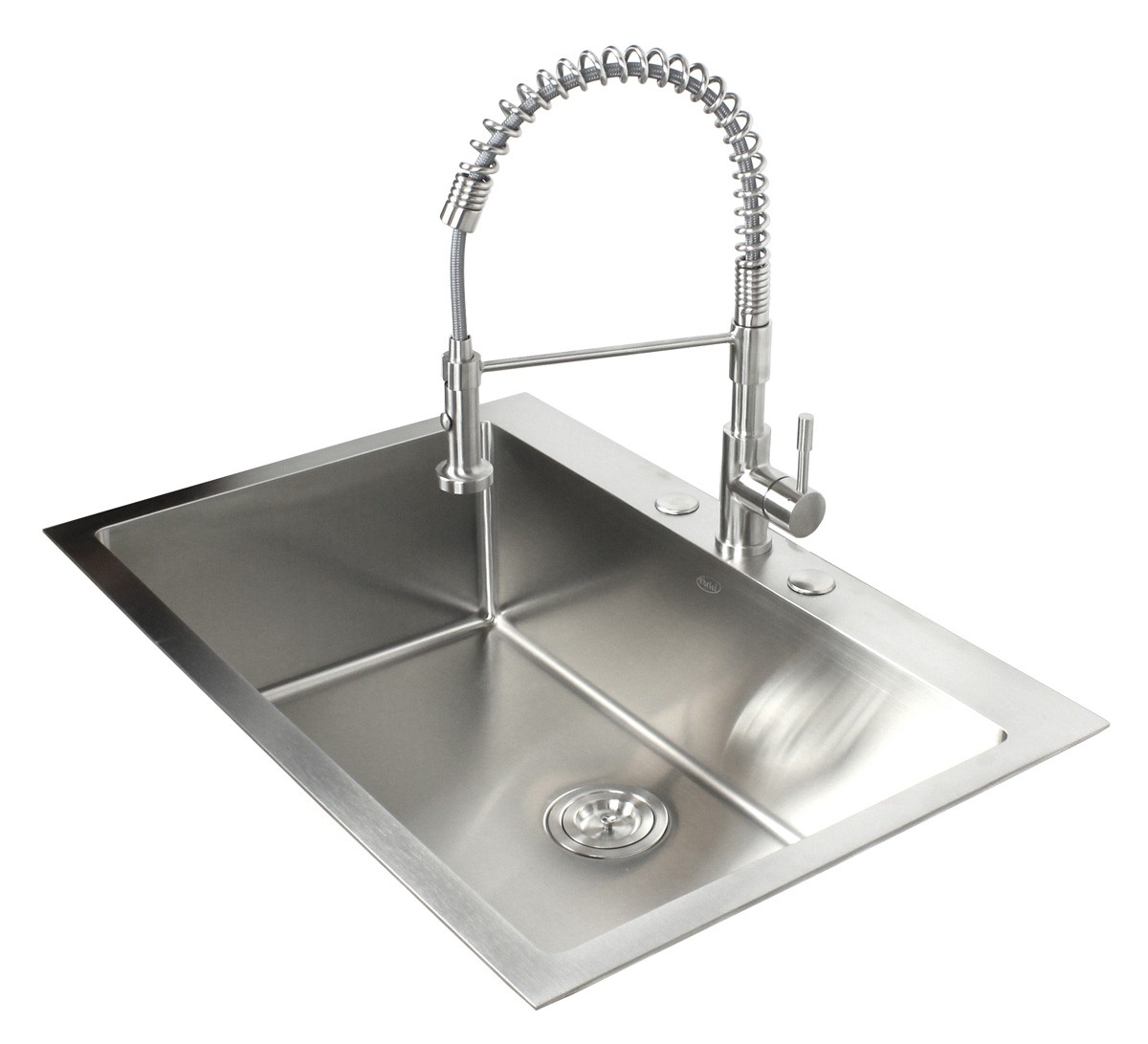 33 Inch Top-Mount / Drop-In Stainless Steel Single Bowl Kitchen Sink