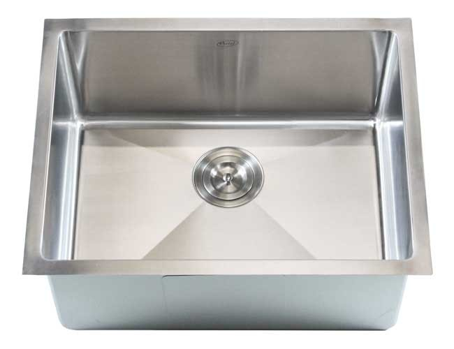 Ariel 23 Inch Stainless Steel Undermount Single Bowl