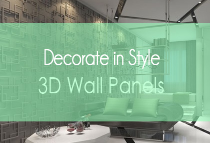Decorating 3D Wall Panels